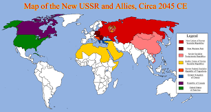 Political Map Of Greece by Map Of The New Ussr And Allies Circa 2045 Ce By Redrich1917 On