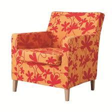 Karlstad Chair Cover Ikea Karlstad Chair Slipcover Armchair Cover Bondarp Orange Multi