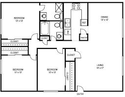 3 bedroom 2 bath floor plans nrtradiant com