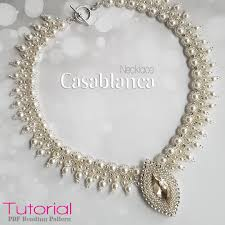 beads design necklace images Beading pattern necklace 39 casablanca 39 trinkets beading jpg