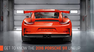2016 porsche png porsche st louis get to know the 2016 porsche 911 lineup