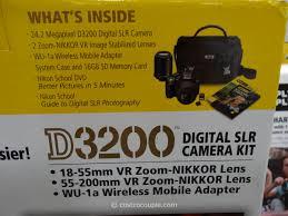 nikon d3200 dslr kit