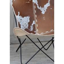 Cowhide Chair Australia Rio Butterfly Cowhide Chair