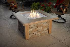 electric fire pit table sierra square fire pit table sutter home hearth