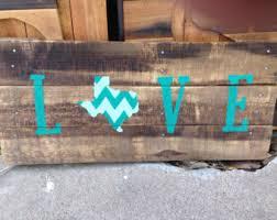 Rustic Texas Home Decor Texas Decor Etsy