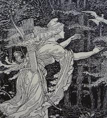 antiques atlas original walter crane faerie queene woodcut