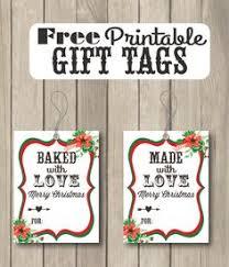sweet holiday printable christmas gift tags free printable