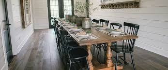 fixer upper dining table clint harp s 6 best designs from fixer upper
