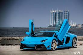 lamborghini aventador blue blue dmc lamborghini aventador with pur wheels looks wild