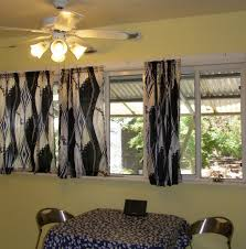 black kitchen curtains for extraordinary look