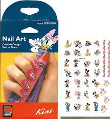 valentines minnie mickey nail art