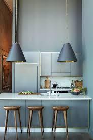 cuisine gris et bleu modern gray kitchen kitchen cuisines bleu gris et