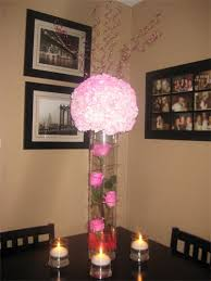sweet sixteen centerpieces blooming events floral design event work island ny