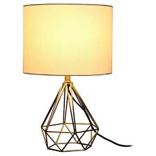 geometric metal small table lamp room essentials target