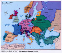 Northwestern Europe Map by Renaissance Europe Map Roundtripticket Me