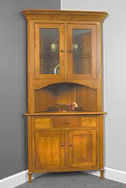 corner hutches archives amish oak furniture mattress store also