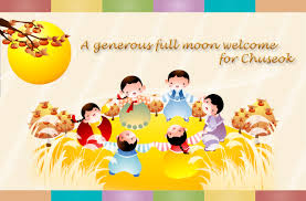 my korea 추석 chuseok korean thanksgiving day