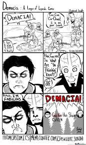 Lol Funny Meme - demacia a league of legends comic by jaskirat meme center