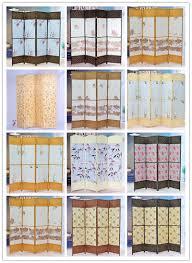 canvas room divider decorative folding canvas floor screen canvas