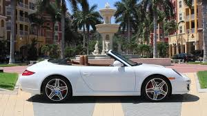 porsche 911 convertible white 2009 porsche 911 carrera s pdk cabriolet youtube