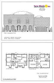 model homes floor plans marion il new horizons homes inc barrington elevations floor plan