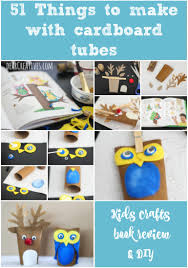 kids book review 51 things to do with cardboard tubes