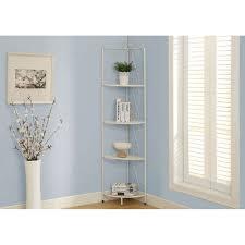 amazon com monarch metal corner display etagere 70 inch white