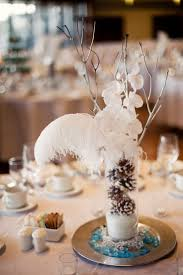 55 best winter wedding table decorations flowers images on