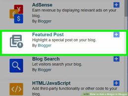 how to add a widget to blogger 13 steps with pictures wikihow