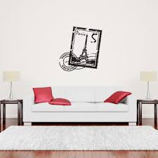 paris stamp wall decal style and apply paris stamp decal wall decals style and apply