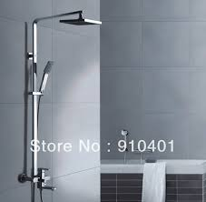 Bathtub Faucet Shower Attachment Brand New Chrome Shower Set Faucet Rain Shower Head With Hand