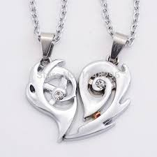 valentines necklace aliexpress buy hot necklace heart