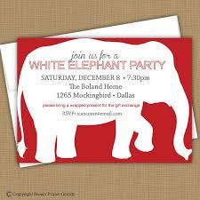 Unique Elephant Card Motive Design Ideas White Elephant Party