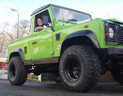 green land rover stolen green landrover 90 pickup uk northwest