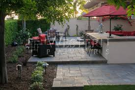 diego pavers raised and sunken patio gallery by western pavers