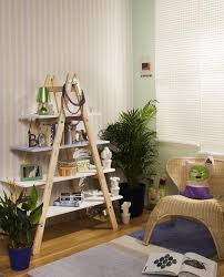 DIY ladder shelf ideas Easy ways to reuse an old ladder at home