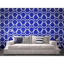 wall decor wonderful tempaper wallpaper in blue theme plus white