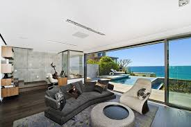 view interior of homes house in sydney with views