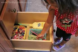 Organizing To Help Your Preschooler Be Independent  Thrifty - The bathroom place
