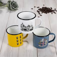custom enamel mug custom enamel mug suppliers and manufacturers