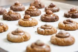 hervé cuisine cookies mini cookies noisette et noisette chocolat hervecuisine com