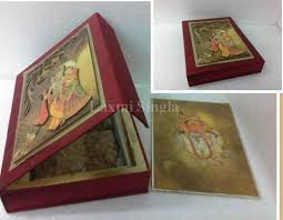 Indian Wedding Card Box Wedding Cards U0026 Boxes Manufacturer From Delhi