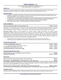 Tax Accountant Resume Sample by Free Accounting Associate Resume Example