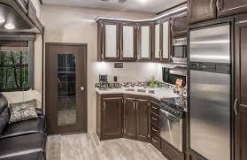 kz kitchen cabinet 2017 sidewinder 3511dk fifth wheel toy hauler k z rv