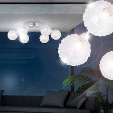 innenarchitektur kleines wohnzimmer lampe decke rund