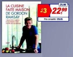 livre de cuisine gordon ramsay makro promotion la cuisine faite maison de gordon ramsay