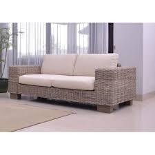 canape en rotin canapé 2 places rotin hevea achat vente canapé sofa divan