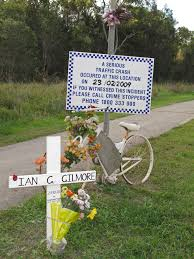 roadside crosses roadside memorials tell of pointless loss newsbytes