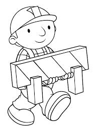 bob the builder coloring pages fleasondogs org