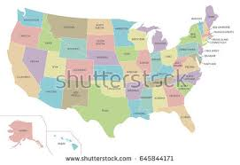 united states map vector united states map stock vector 367096409